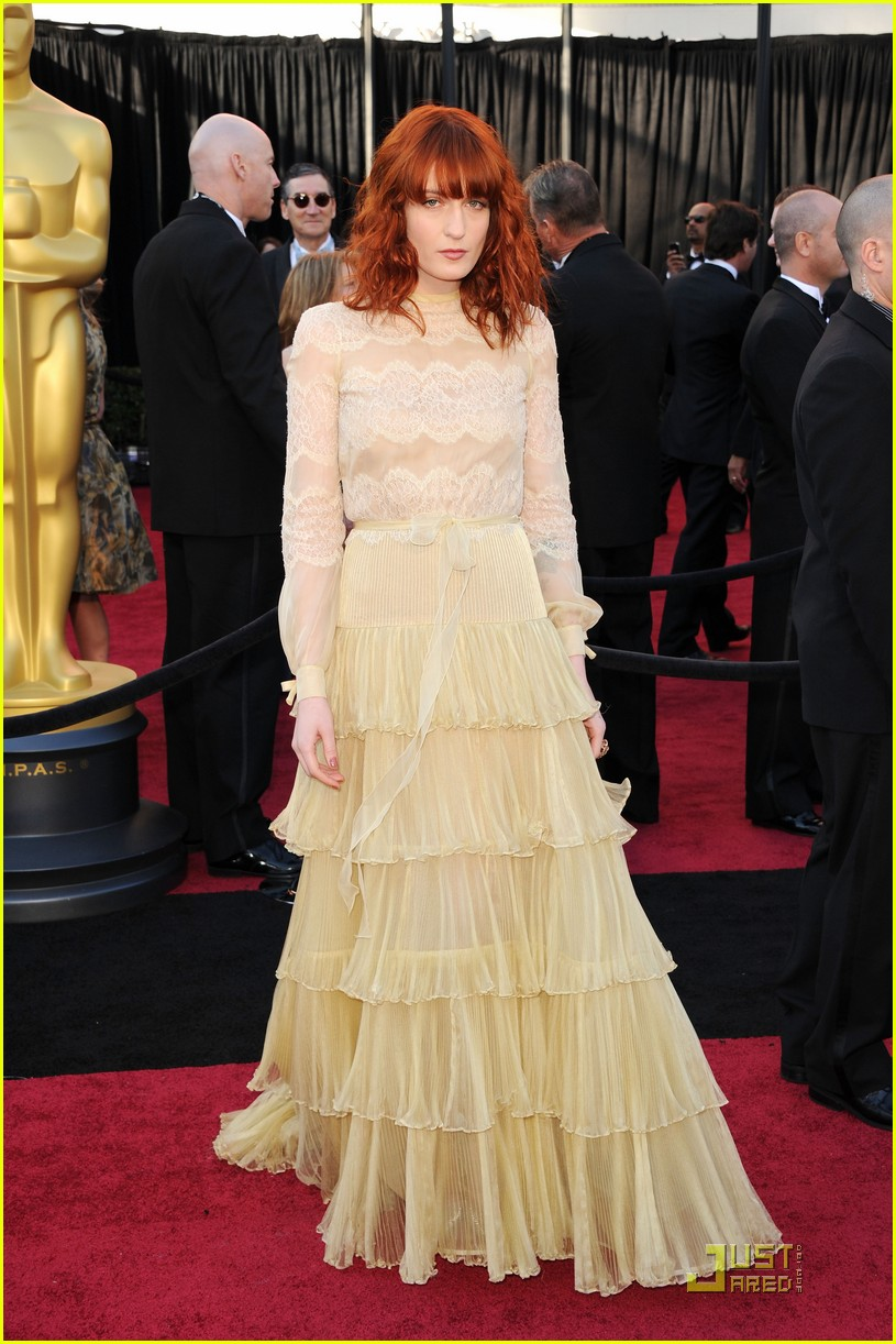 florence welch oscars 2011 052523563
