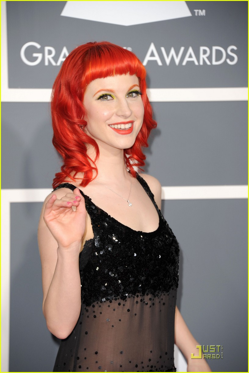 hayley willaims grammys 2011 01