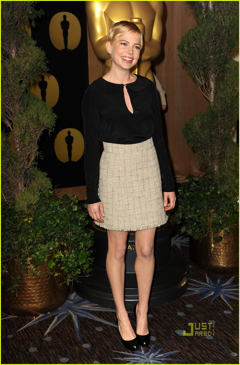 michelle williams oscar nomination luncheon 072517588