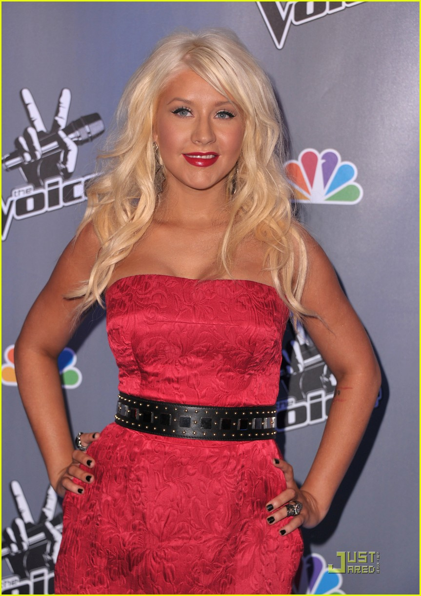 christina aguilera voice press conference 13