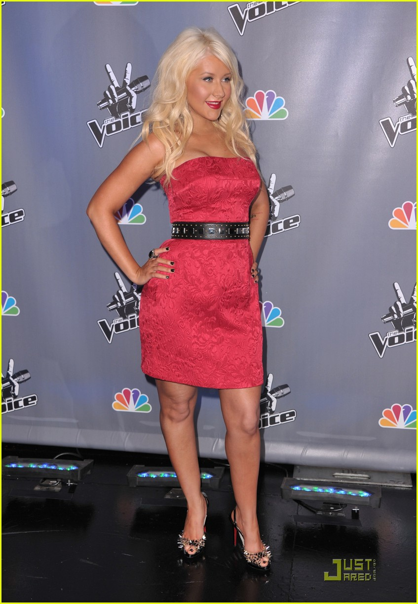 christina aguilera voice press conference 142527911