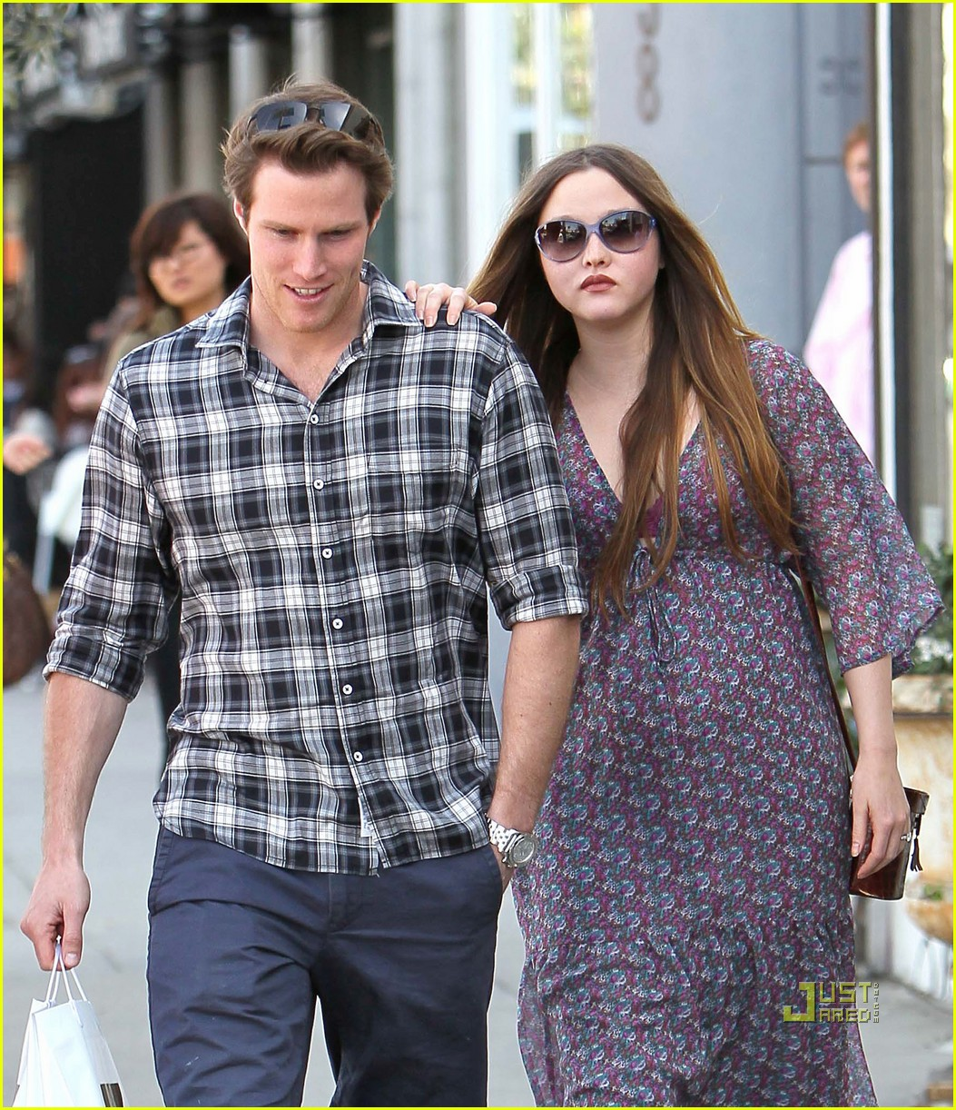 pregnant devon aoki james bailey joans on third 112525482