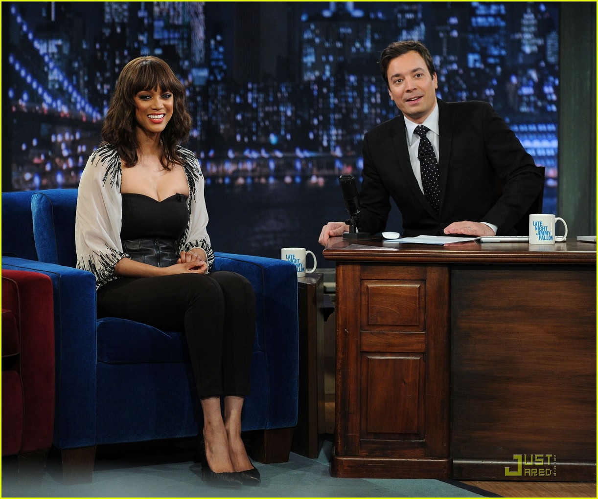 tyra banks jimmy fallon 13