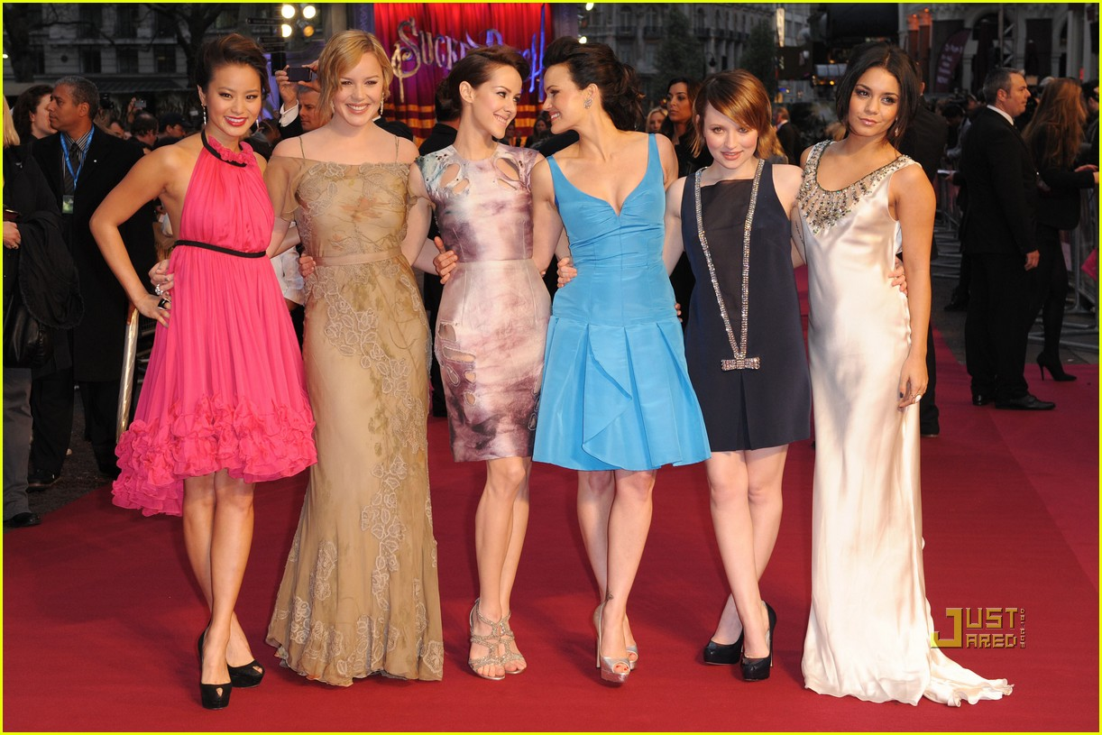 abbie cornish jamie chung emily browning sucker punch uk premiere london 01