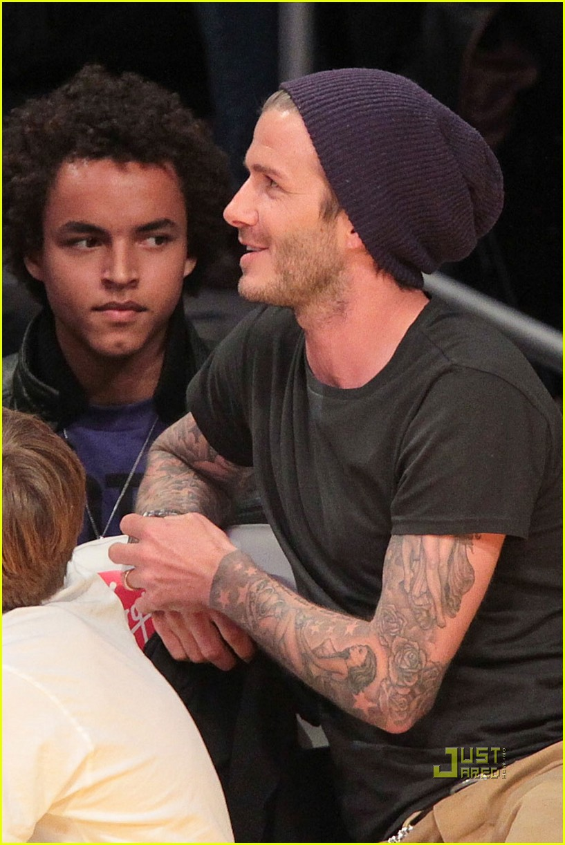 tom cruise david beckham lakers game connor brooklyn 03