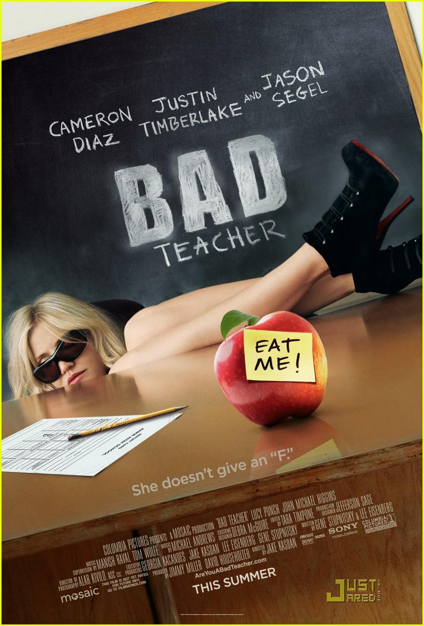 cameron diaz bad teacher poster