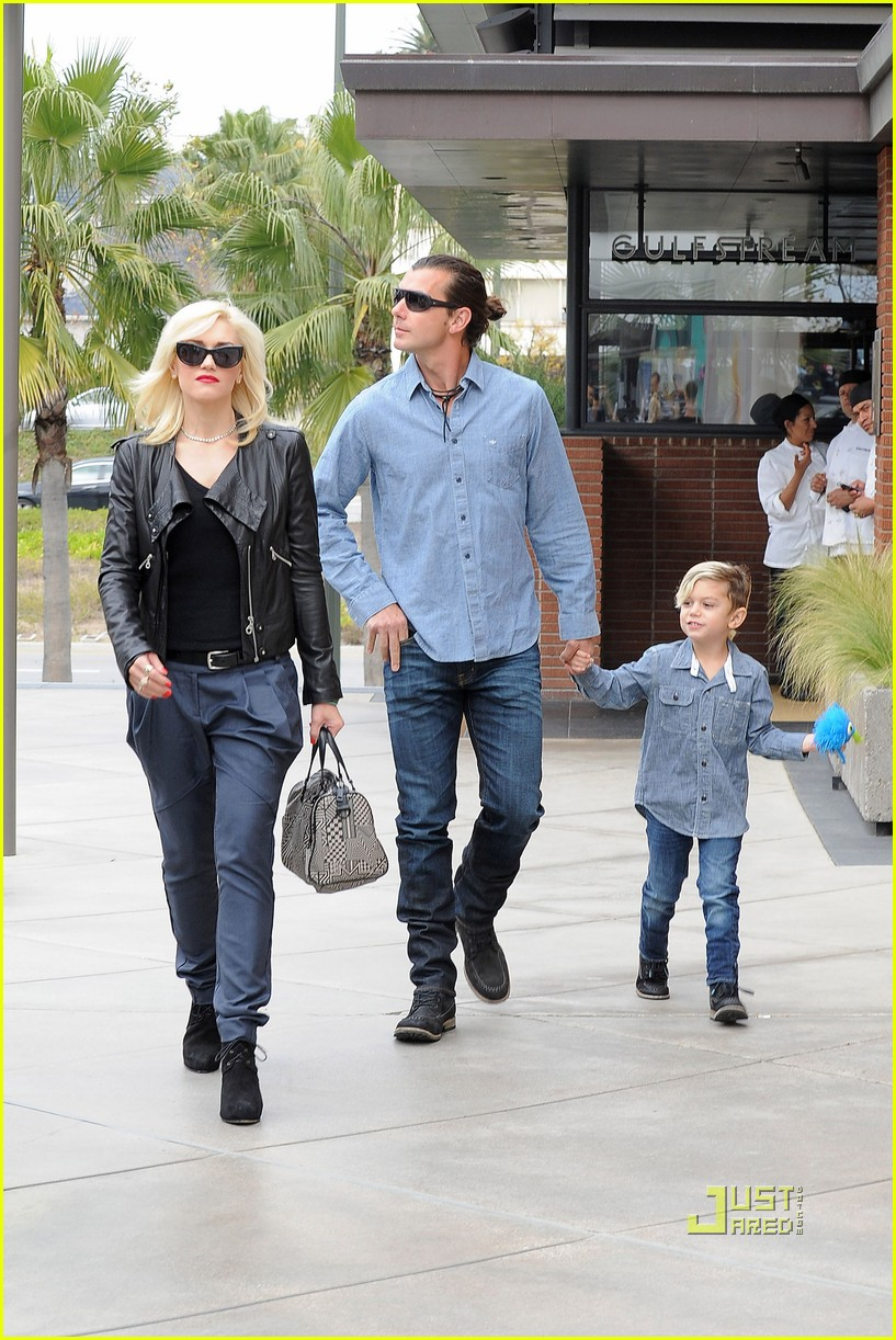 gwen stefani gavin rossdale kingston zuma birthday party 10