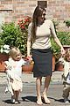 brad pitt angelina jolie kids grocery shopping 01