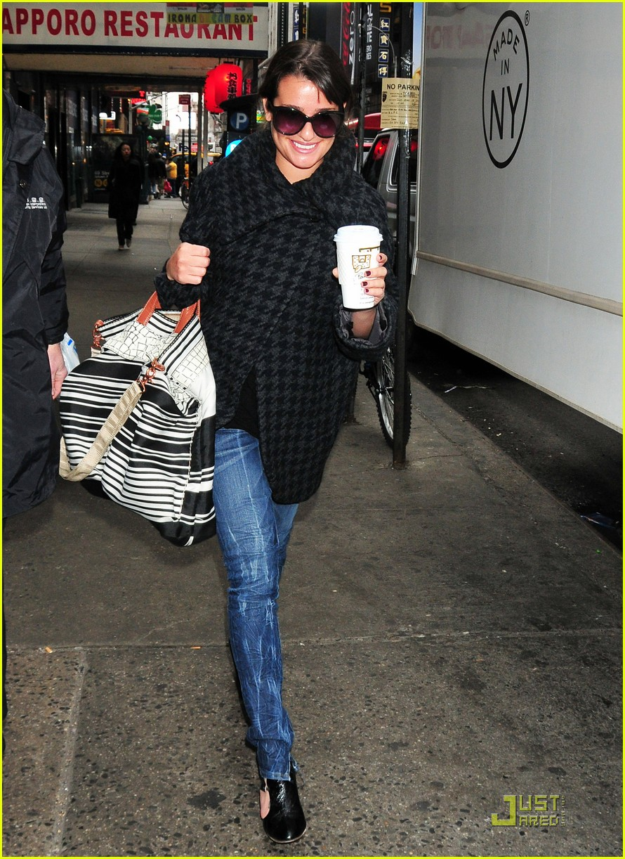 lea michele coffee 06