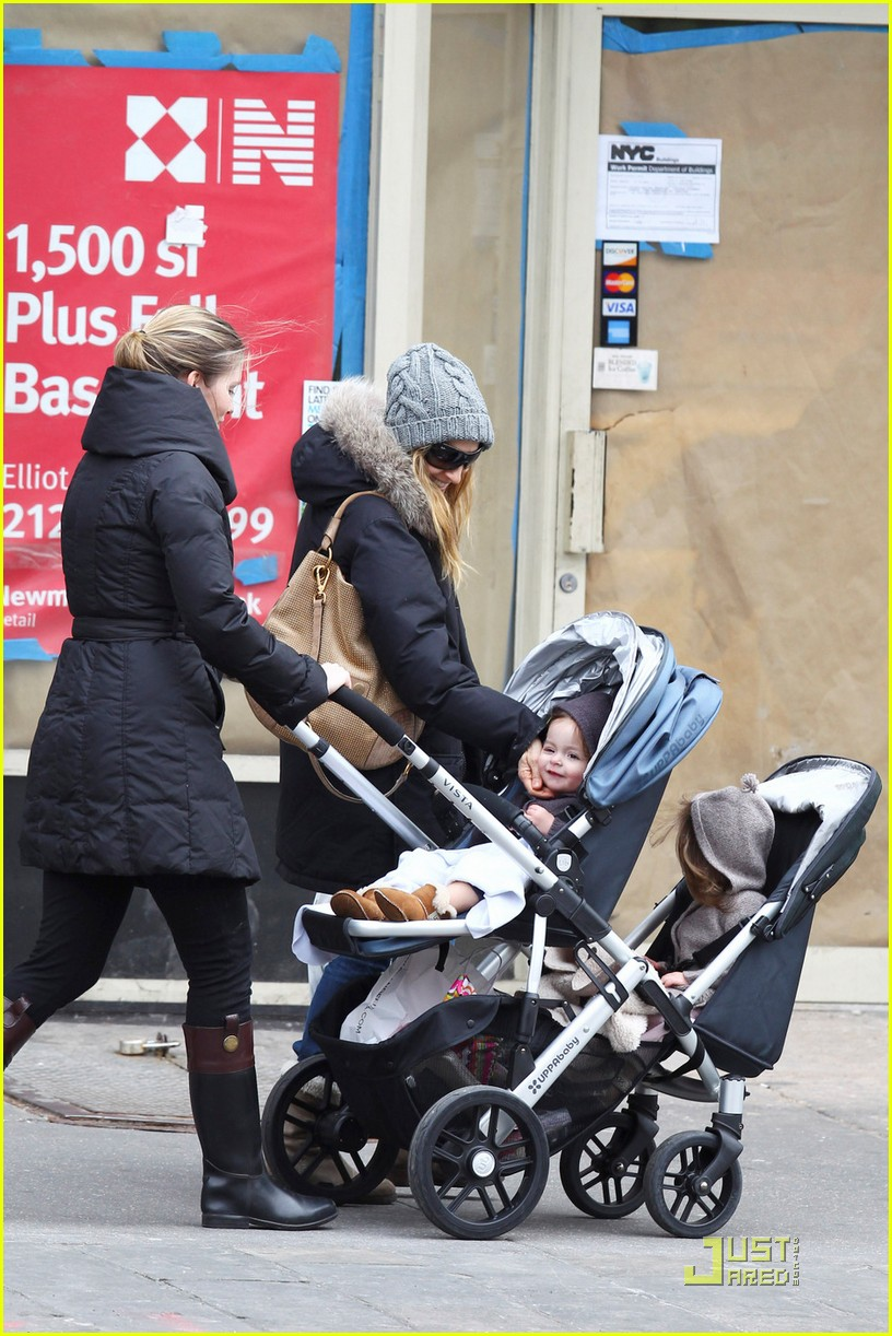 sarah jessica parker twins grocery shopping 02