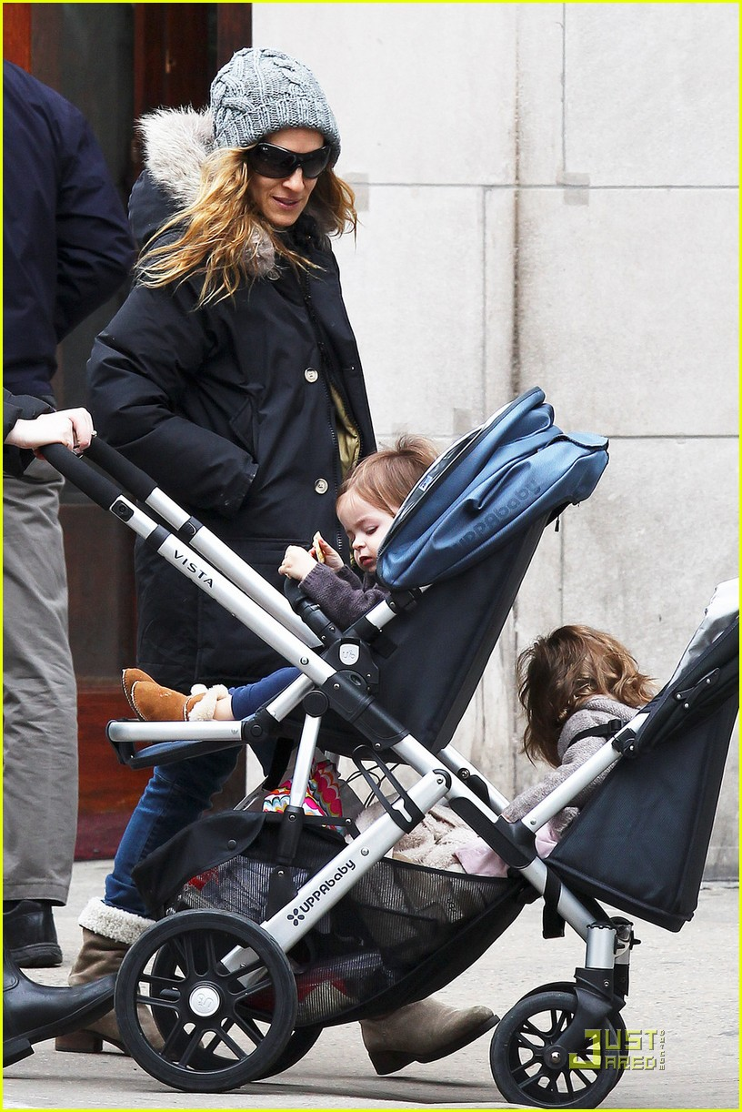 sarah jessica parker twins grocery shopping 04