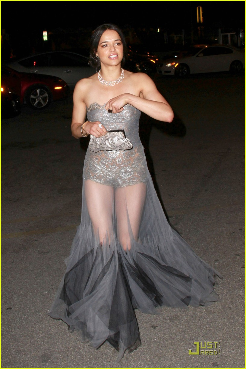 michelle rodriguez sheer dress 01