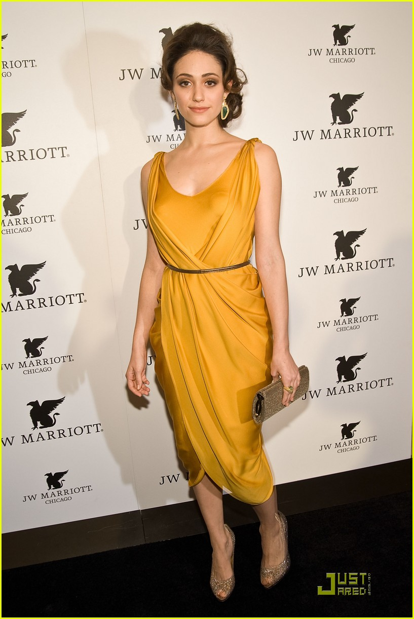 emmy rossum jw marriott chicago grand opening 08