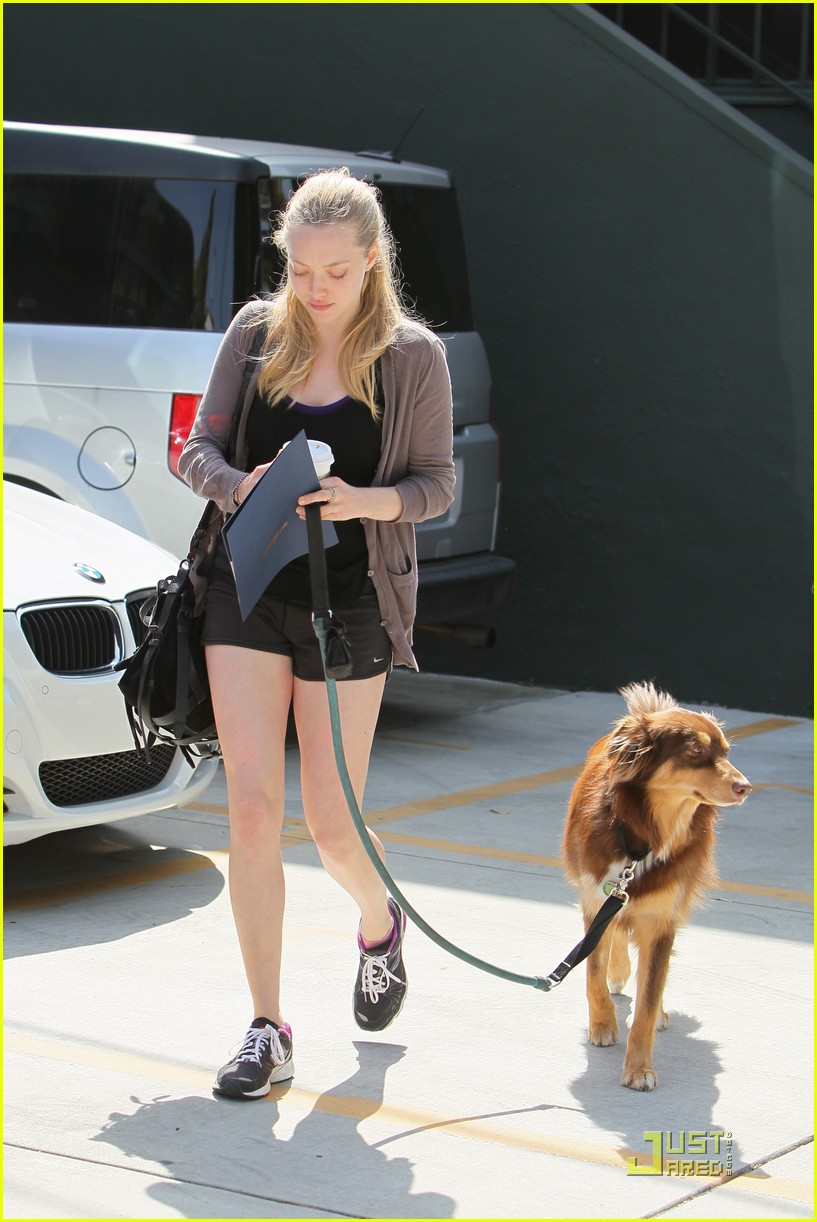 amanda seyfried coffee and dog run 03