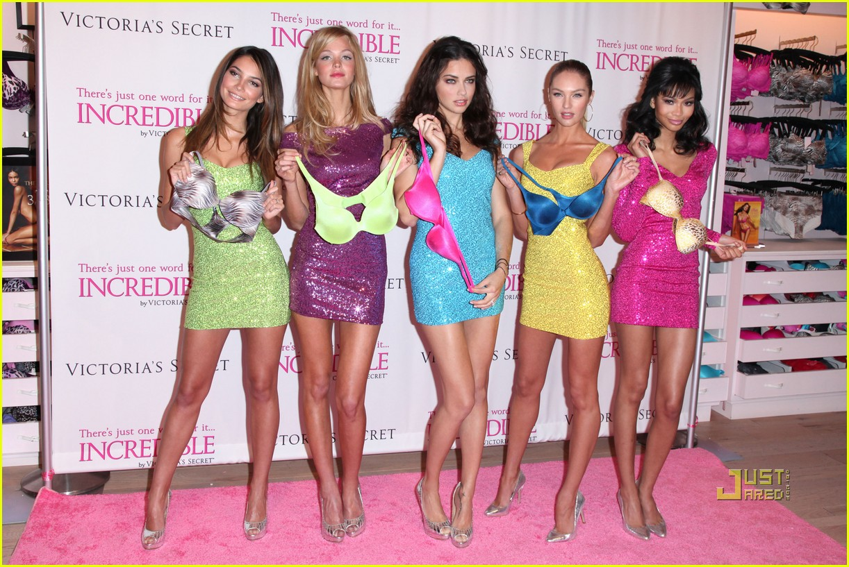 victorias secret angels incredible 25