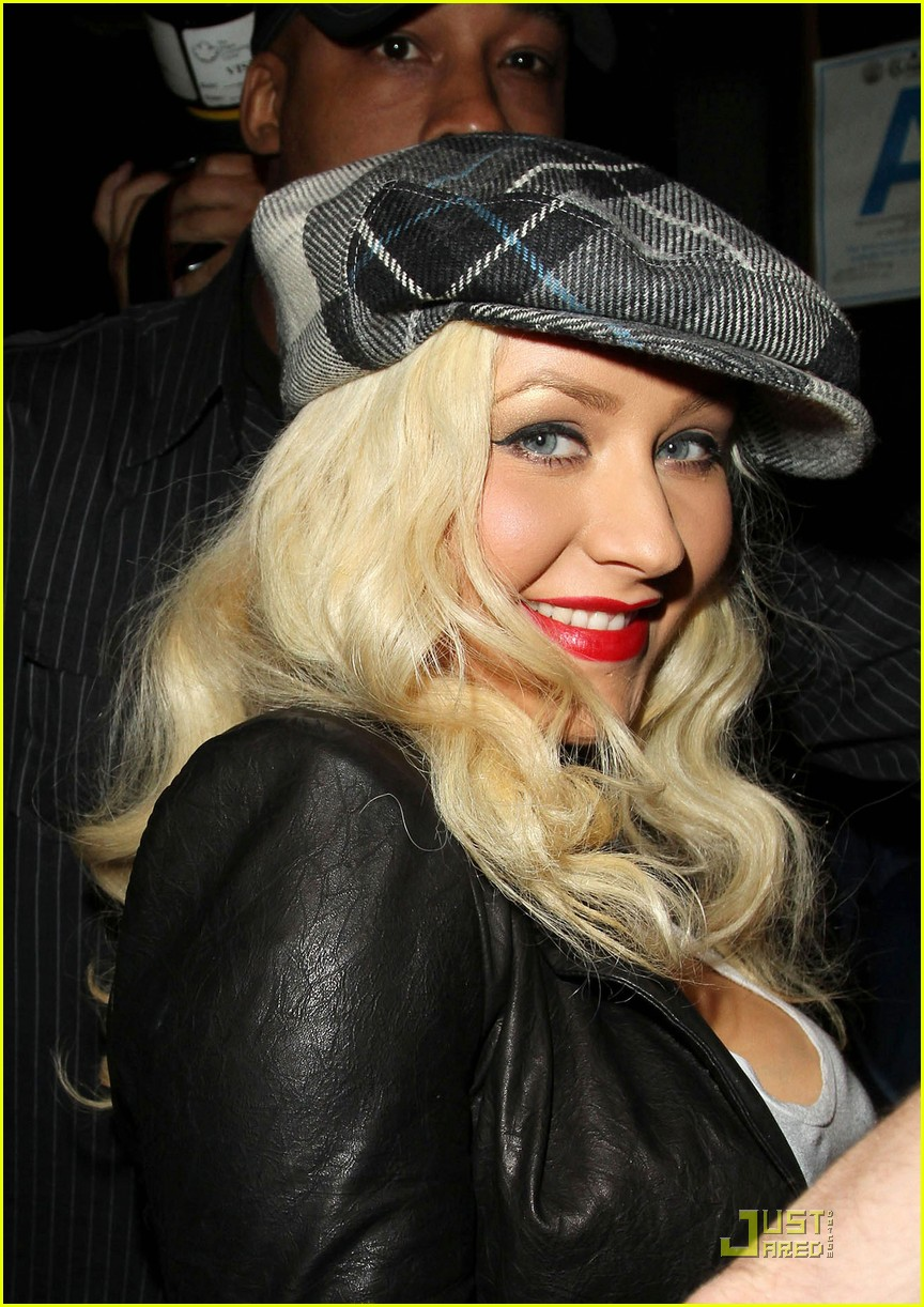 christina aguilera linda perry concert with matthew rutler 102537348