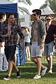 penn badgley shirtless coachella 08