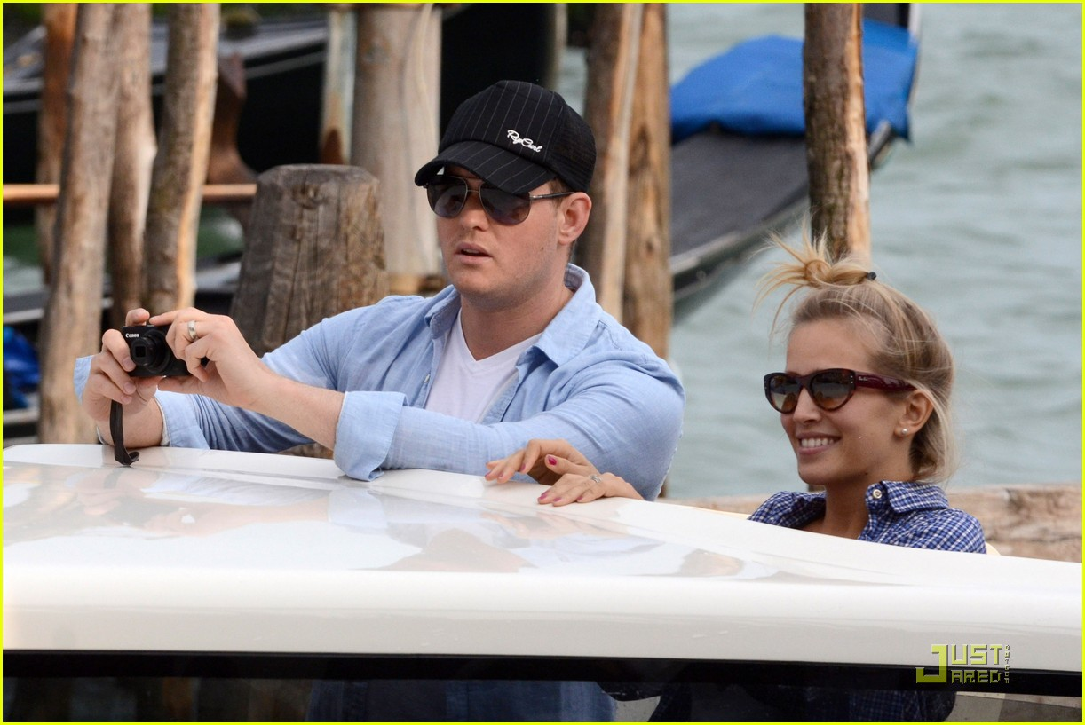 michael buble luisana lopilato venice vacation 082538007