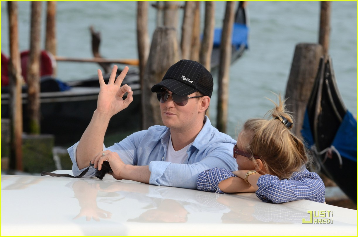 michael buble luisana lopilato venice vacation 09
