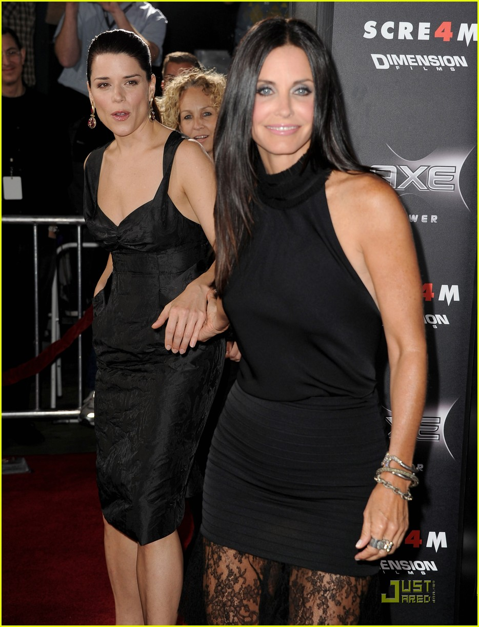 courteney cox david arquette neve campbell scream 4 premiere 20