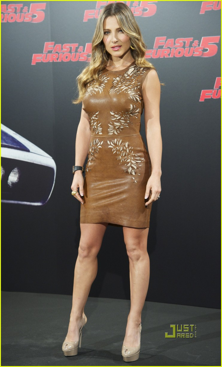 elsa pataky vin diesel fast 5 photo call madrid 082538386