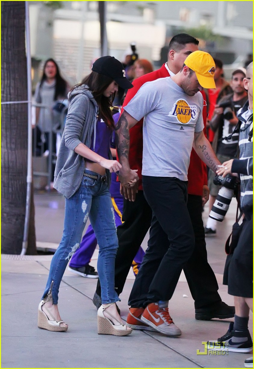 megan fox brian austin green lakers 062538603