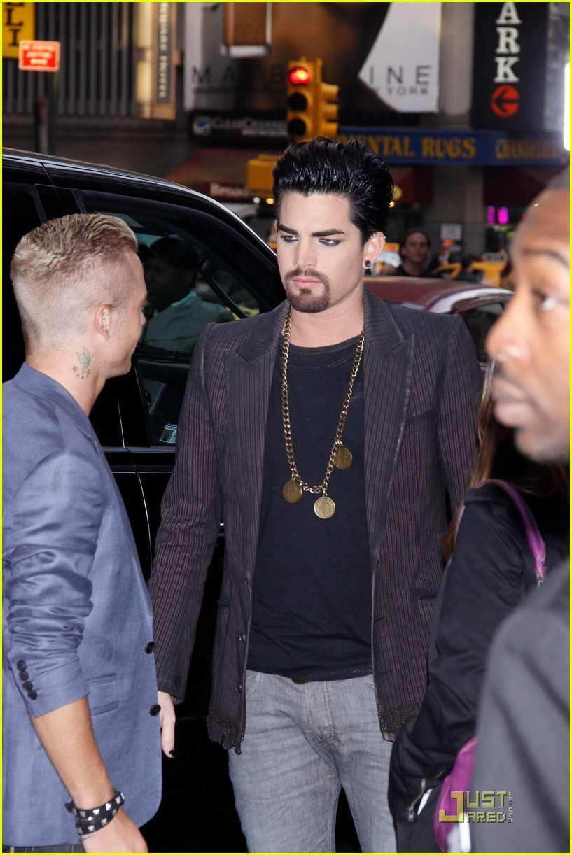 adam lambert facial hair for sister act 05