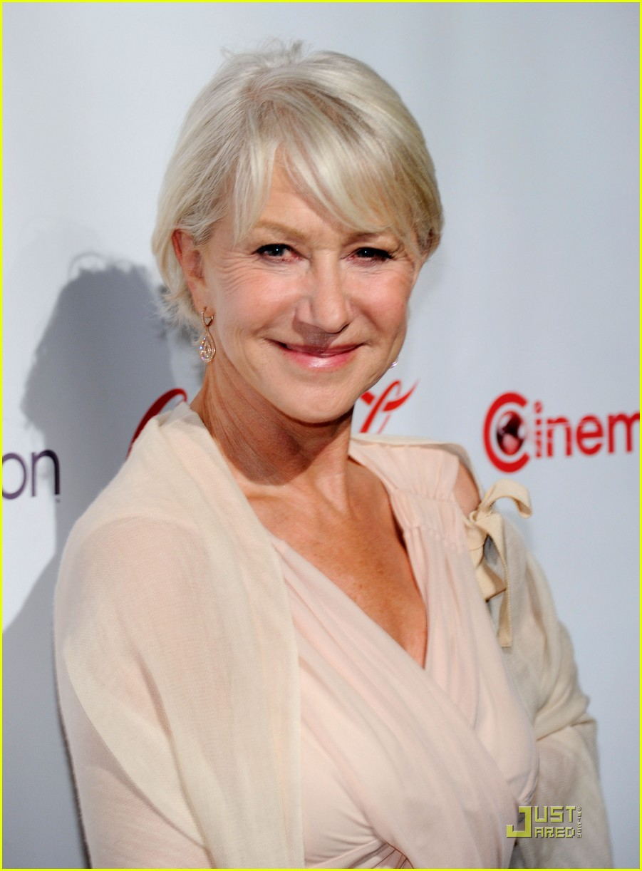 helen mirren russell brand cinemacon awards 2011 12