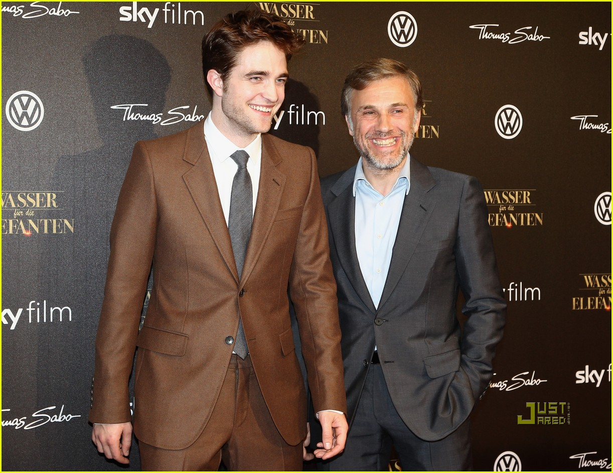 robert pattinson water for elephants premiere berlin 08