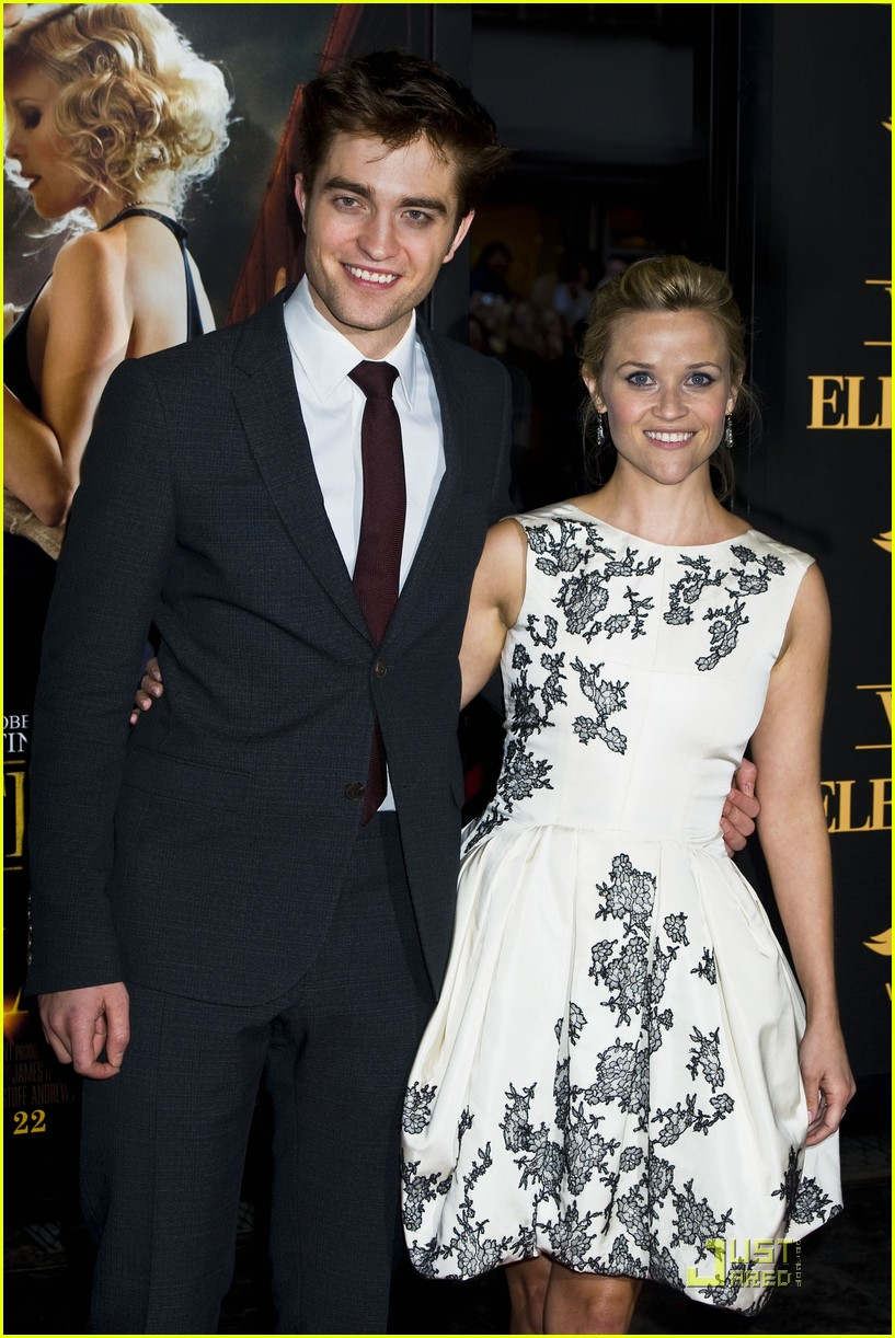 robert pattinson reese witherspoon water for elephants premiere 01