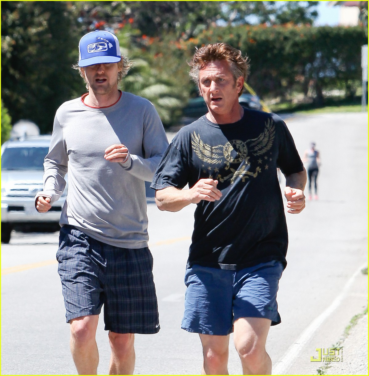 sean penn scarlett johansson jogging 04