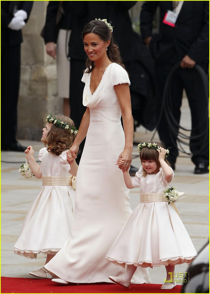 Дети на свадьбе пиппы