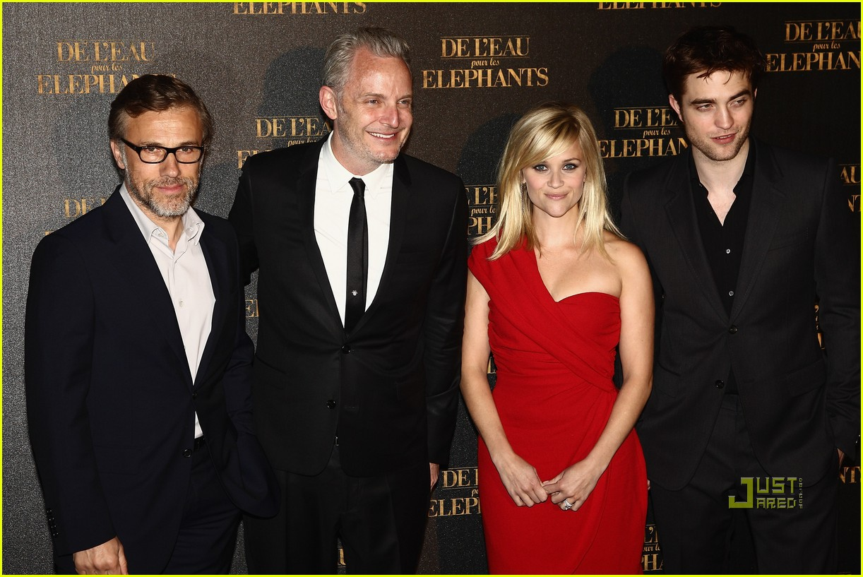 reese witherspoon water for elephants paris premiere robert pattinson 01