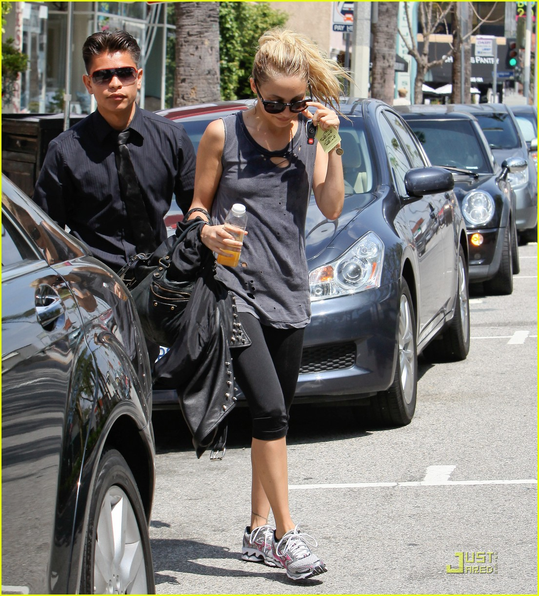 nicole richie workout woman 12