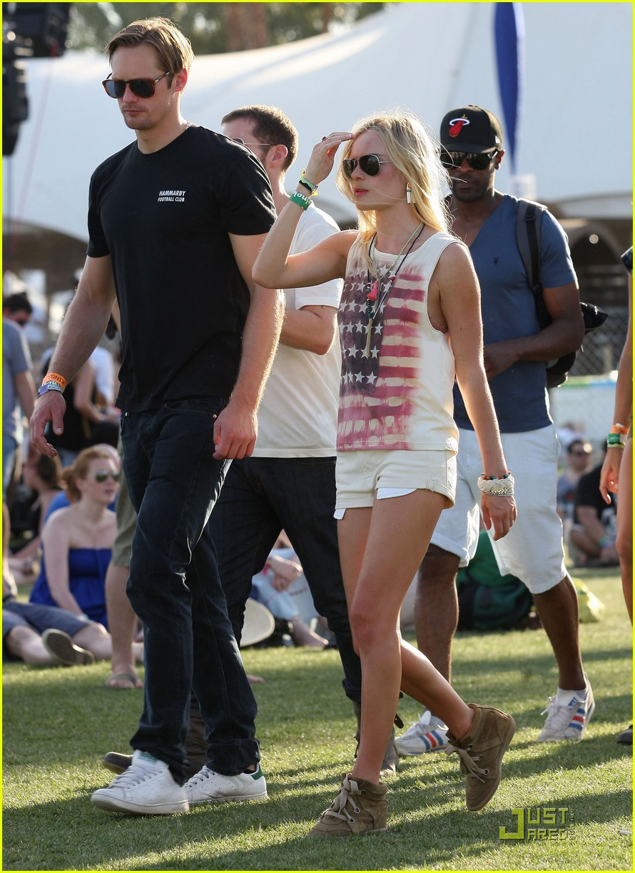 alexander skarsgard kate bosworth coachella duo 082536019