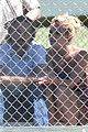britney spears baseball game with jason trawick 10