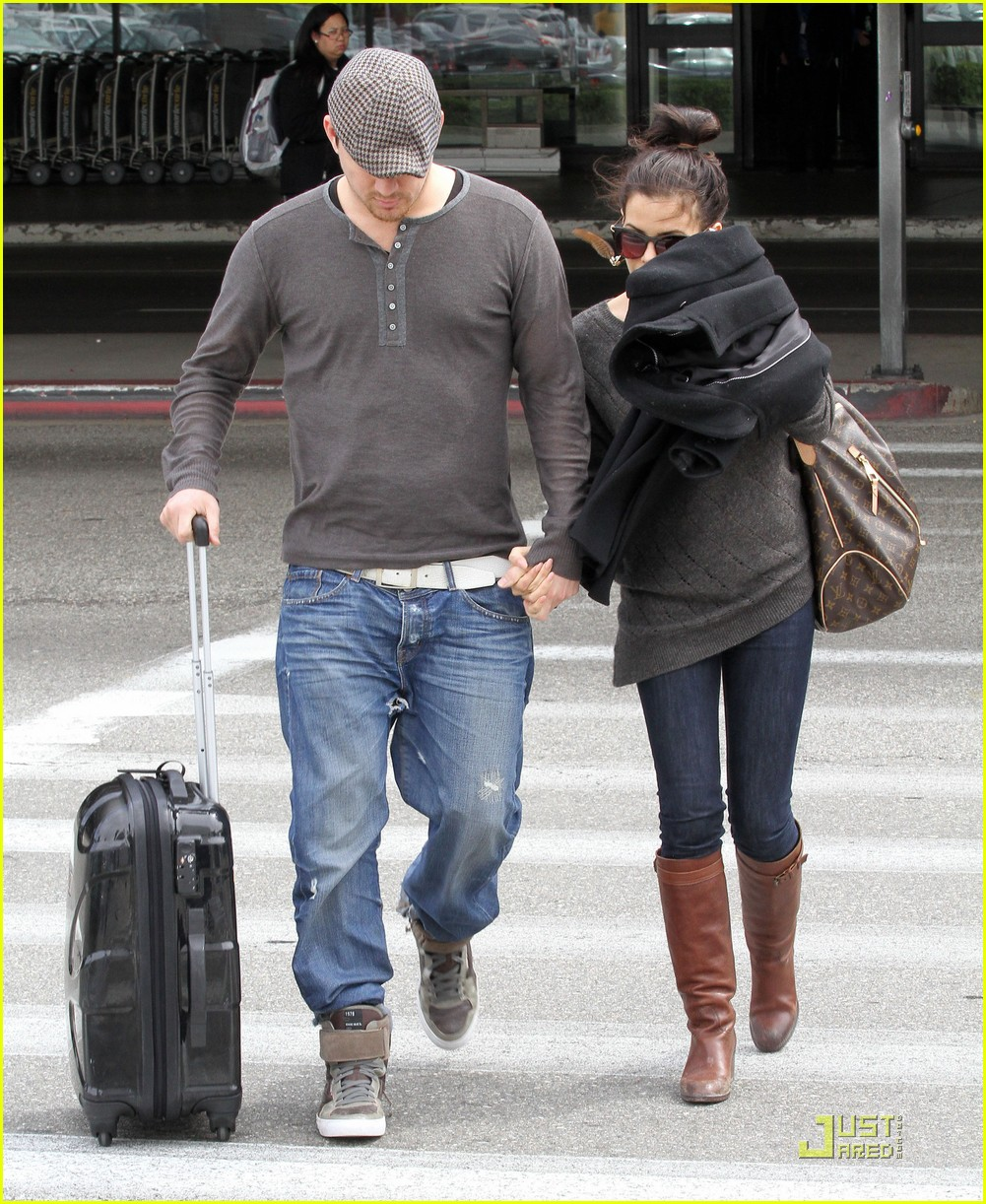 channing tatum jenna dewan back in los angeles 01