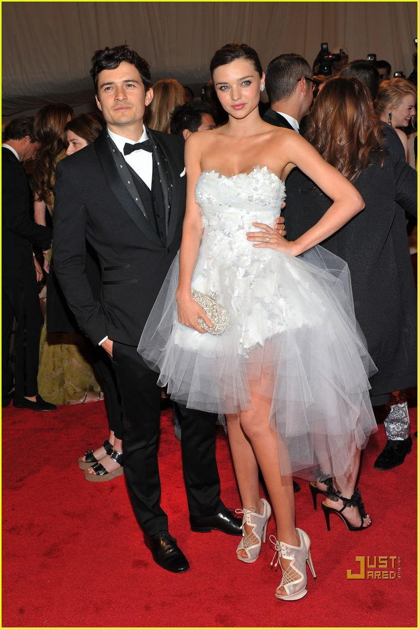 miranda kerr orlando bloom met ball 2011 04