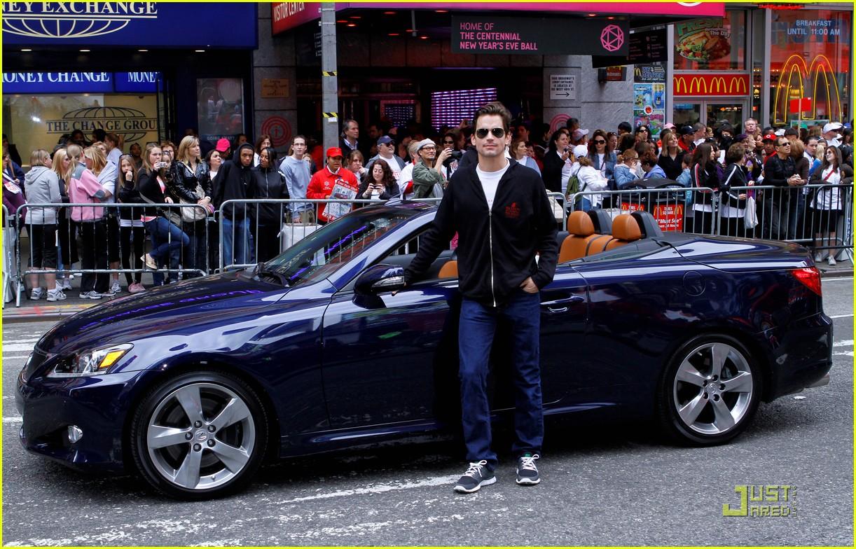 photo of Matt Bomer  - car
