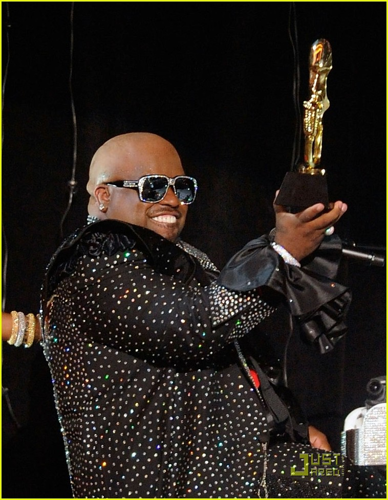 full sized photo of cee lo green billboard awards. Black Bedroom Furniture Sets. Home Design Ideas