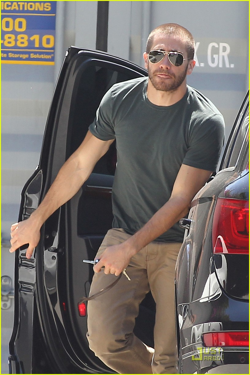 jake gyllenhaal boxing training day 042543415