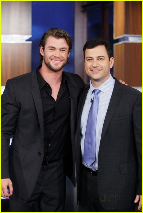 chris hemsworth jimmy kimmel live 02
