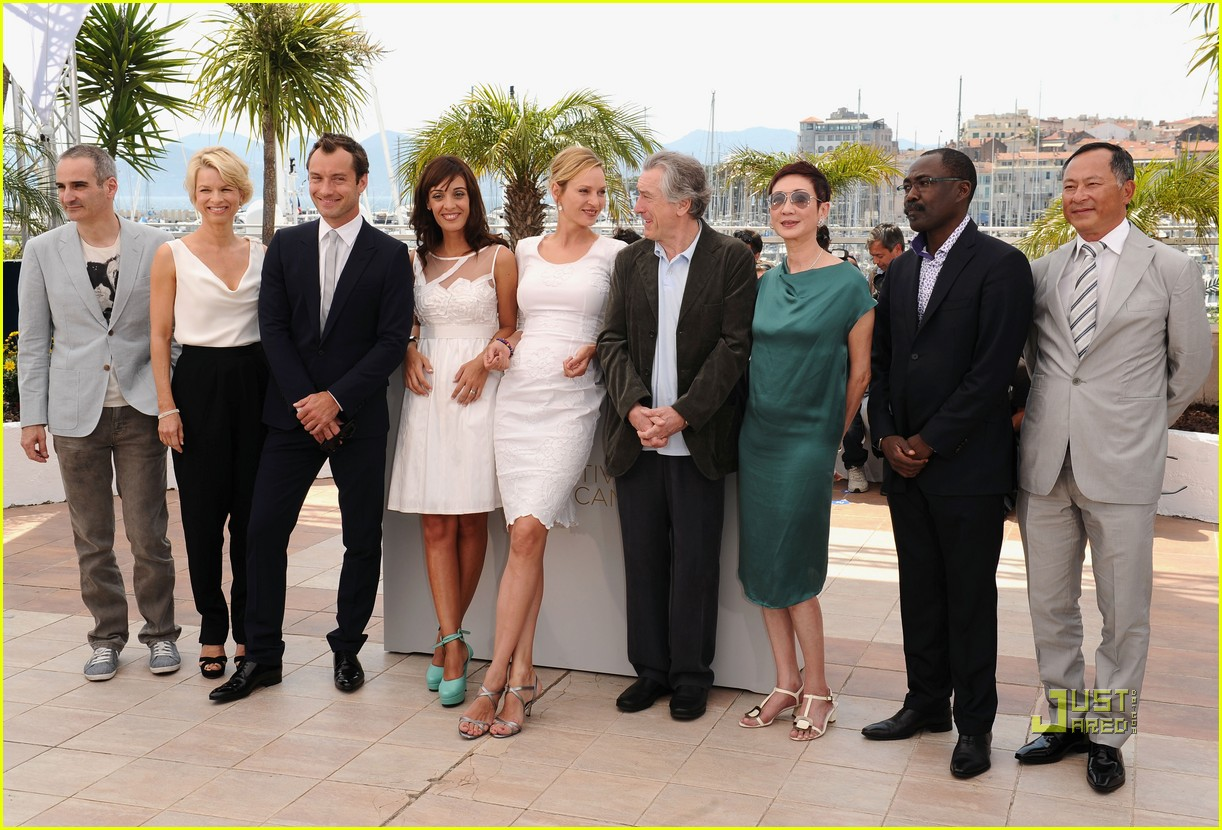 jude law uma thurman cannes jury 27