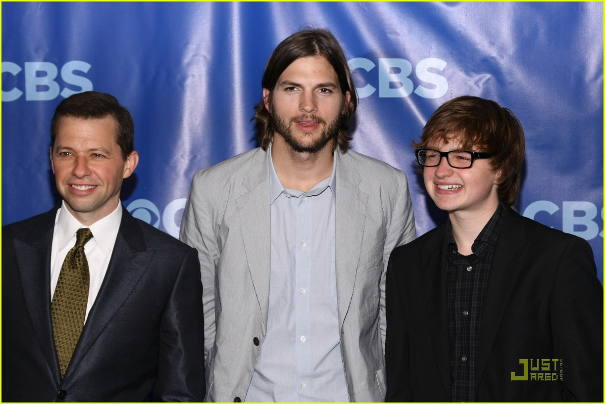 ashton kutcher two and a half men new cast 062545212