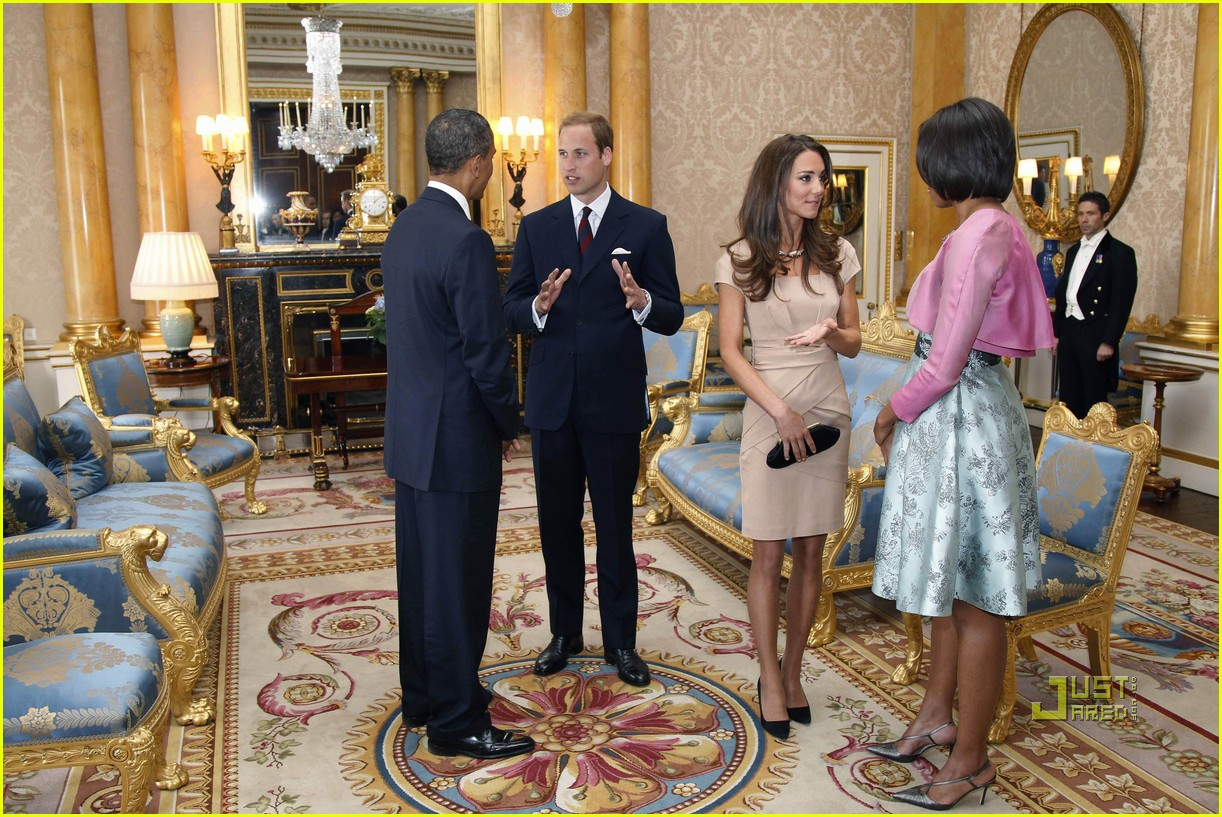 kate middleton prince william meet obama 08