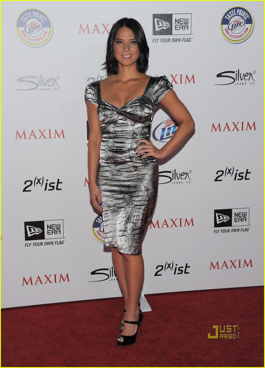 olivia munn jaimie alexander maxim hot 100 party 04
