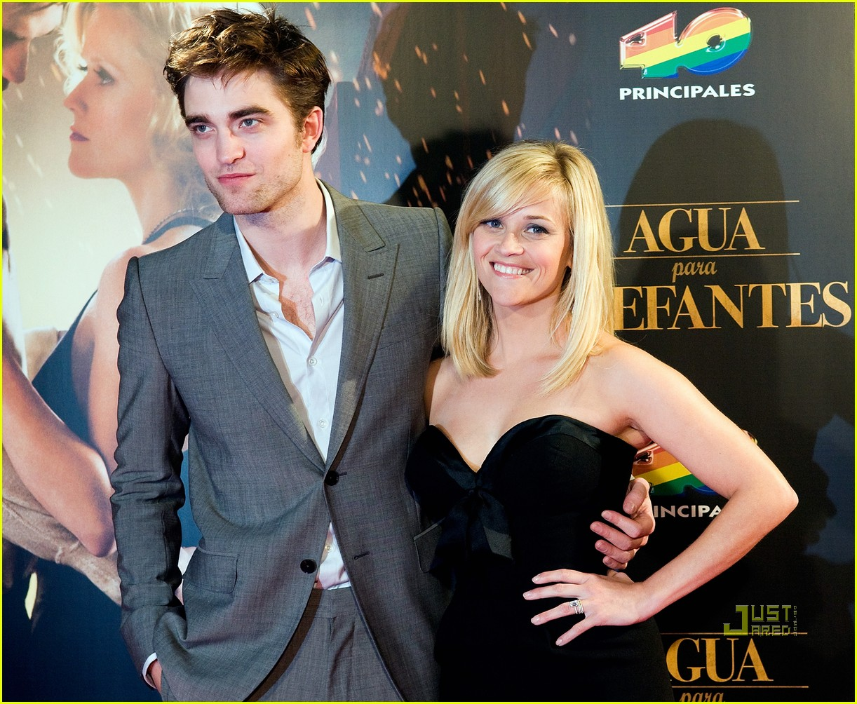 reese witherspoon spain robert pattinson water for elephants 19