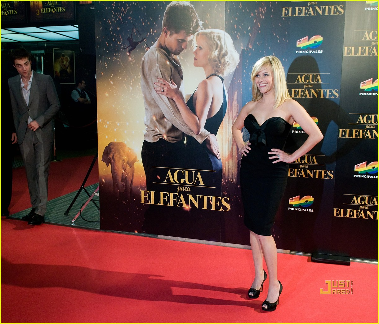 reese witherspoon spain robert pattinson water for elephants 20