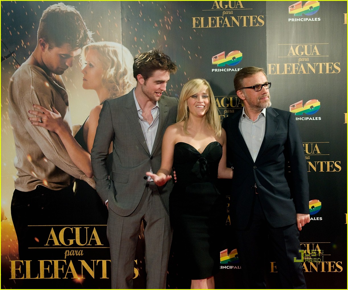 reese witherspoon spain robert pattinson water for elephants 22