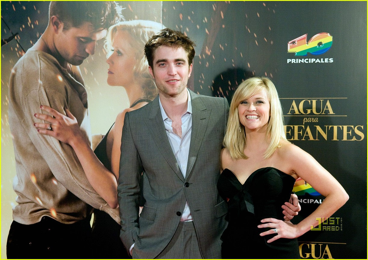 reese witherspoon spain robert pattinson water for elephants 27